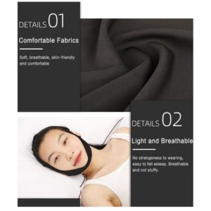1pc Anti Snore Stop Snoring Chin Strap Belt Anti Apnea Jaw Solution Support Woman Man Health 1 Beauty-Health Mega Shop