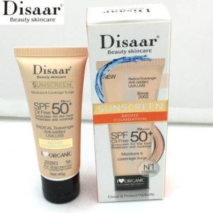 Disaar Facial Body Sunscreen Whitening Cream Sunblock Skin Protective Cream Anti Aging Oil control Moisturizing SPF Beauty-Health Mega Shop