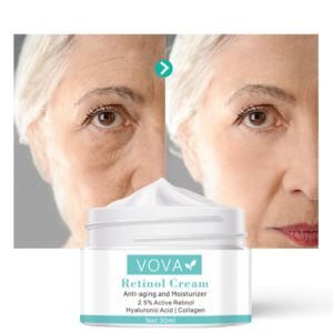 Retinol Face Cream Eye Cream Serum Set Lifting Anti Aging Anti Eye Bags Remove Wrinkles Moisturizer 1 Beauty-Health Mega Shop