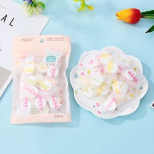 30Pcs Bamboo Charcoal Compressed Mask Sheet Paper Non toxic Portable DIY Tools Moisturizing Whitening Beauty Skin 1 Beauty-Health Mega Shop