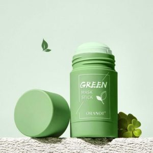 Cleansing Green Stick Green Tea Stick Mask Purifying Clay Stick Mask Oil Control Anti acne Eggplant 1 Beauty-Health Mega Shop